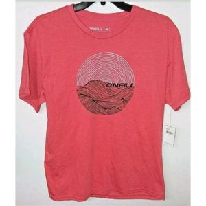 Men's O'Neill Premium T-Shirt Red Large